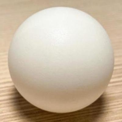 卓球ボール:めっき前